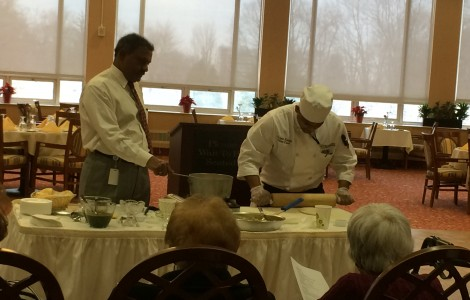 Cooking Demo with Shripal