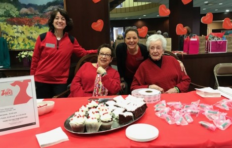 The Watermark at 3030 Park Celebrated Go Red Day!