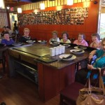 One of our Mystery Dinners out - fun time had by all!