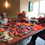 Look at all of the candy!