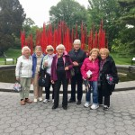 A fun trip to the Botanical Gardens in NY.