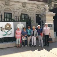Cooper Hewitt Museum Group in front