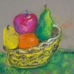Susan Varga Chrien, Bowl of Fruit