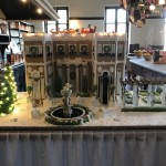 New for 2017, a gingerbread model of each house, created by amazing local pastry chefs, on display in its kitchen.