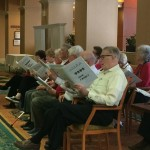 Resident Chorus Singing Holiday Songs
