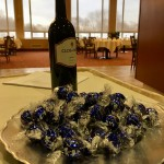 Lindt's Dark Chocolate and a Clos du Bois Merlot were a delicious hit at our Watermark University class on Valentine's Day