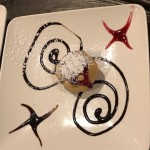Each dessert plate served with a different design just for residents of The Watermark at 3030 Park