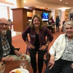 Long-time resident Uncle Ernest  and newer resident Jan with Kristin!