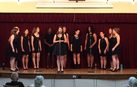 A Delightful Performance from Yale's Whim'n Rhythm at The Watermark at 3030 Park