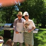Summer Picnic with the Men's Gathering Club at The Watermark at 3030 Park.