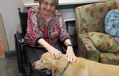 The Watermark at 3030 Park Shares Emotional and Physical Benefits of Pet Therapy for Memory Care Patients