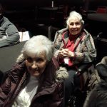 Our Inn residents getting ready for the show to begin.