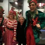 Laughter and Joy for our Gardens resident as she meets the performers after the show.