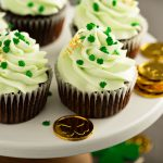 End your meal with a delicious St. Patty's Day cupcake at The Watermark at 3030 Park.