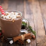Hot Cocoa will definately warm you up during these cold days as the residents enjoy the socialization during the social hour every day at The Watermark at 3030 Park.